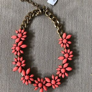 ***NWT JCrew Coral statement necklace
